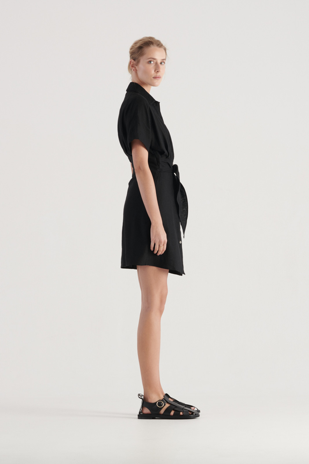 Elka Collective Womens Black Times Dress 3