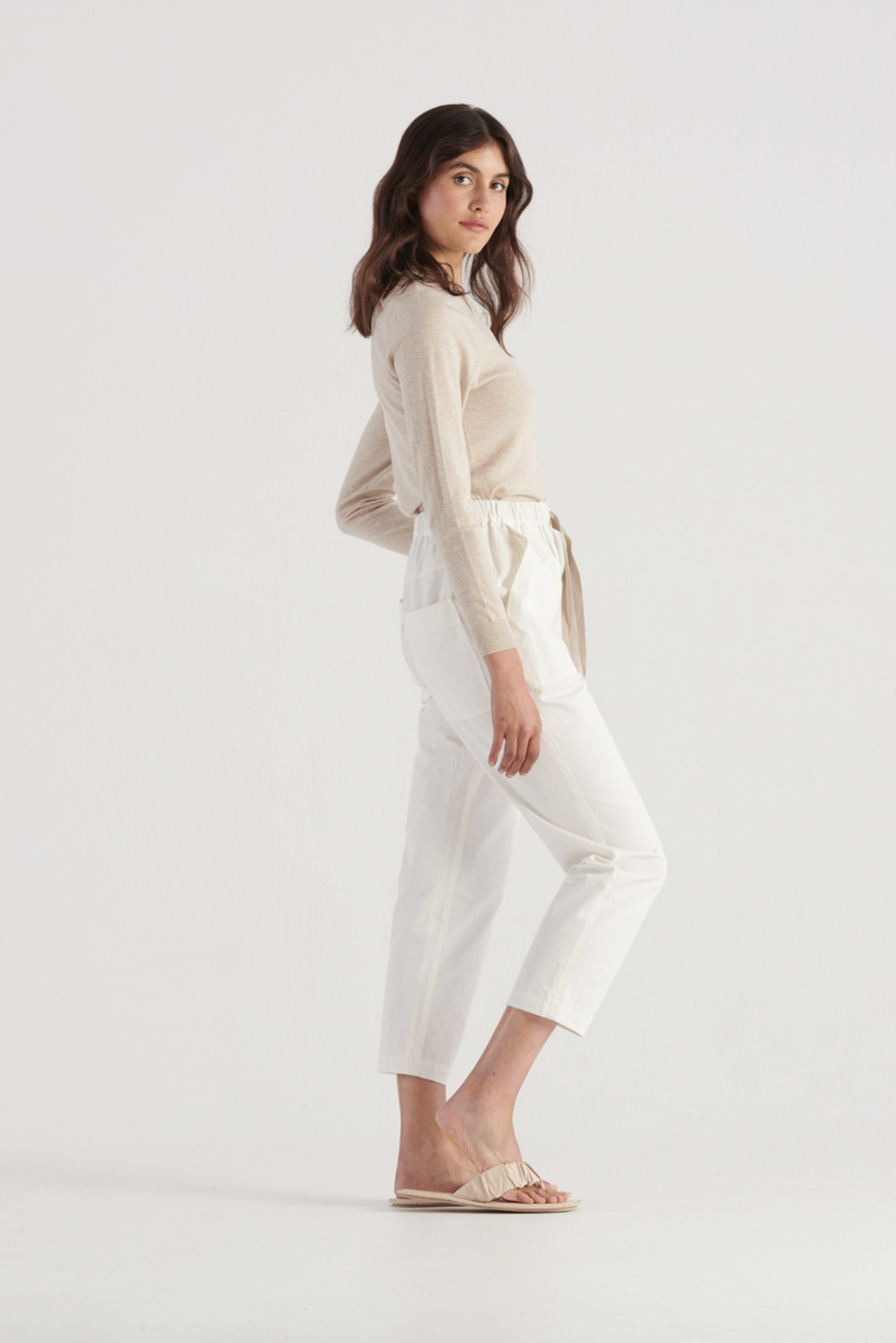 Elka Collective Womens White River Pant 4