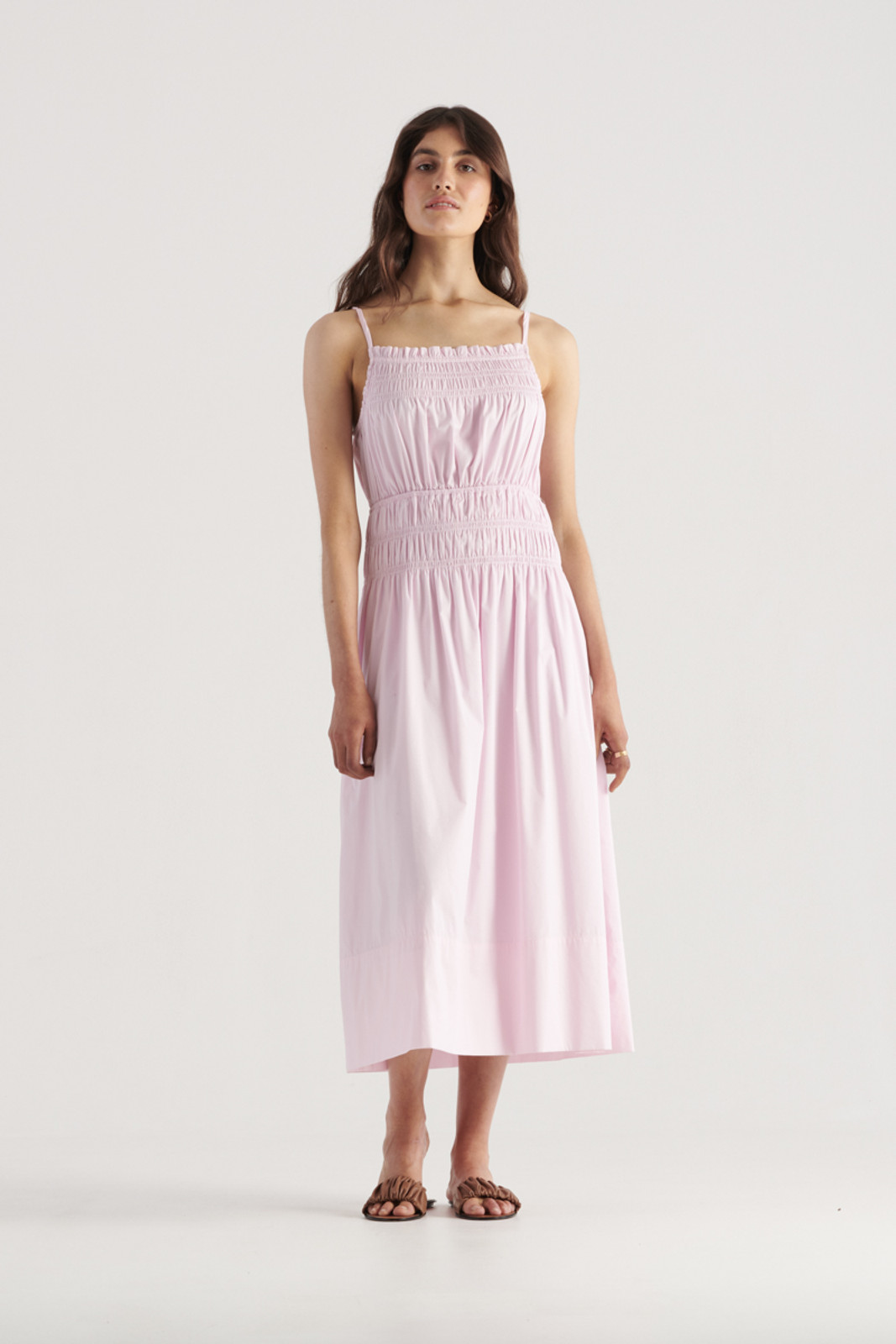 Elka Collective WomensThrive Dress Lilac  0