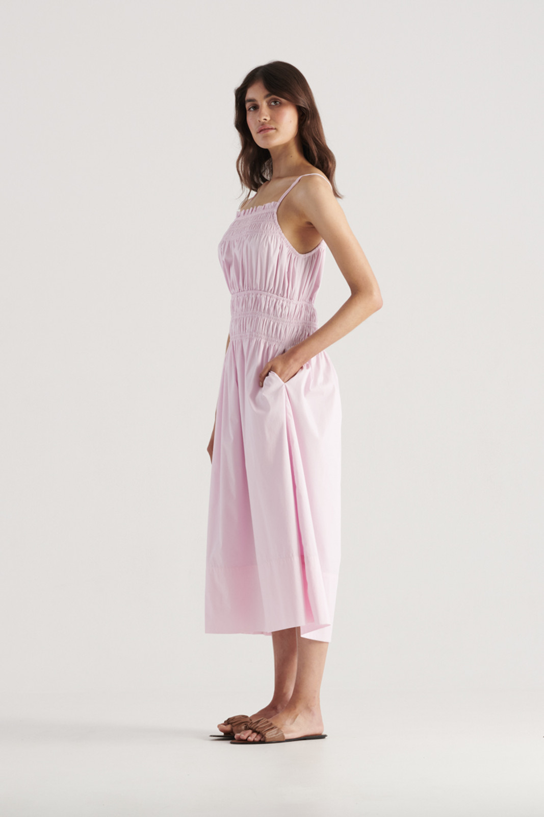 Elka Collective WomensThrive Dress Lilac  1