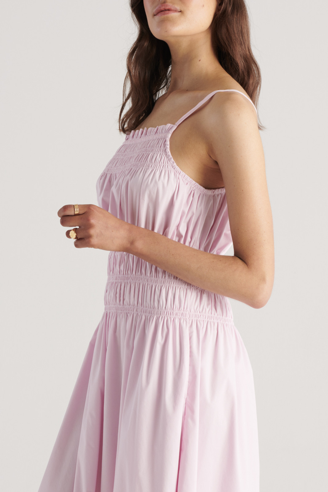 Elka Collective WomensThrive Dress Lilac  4