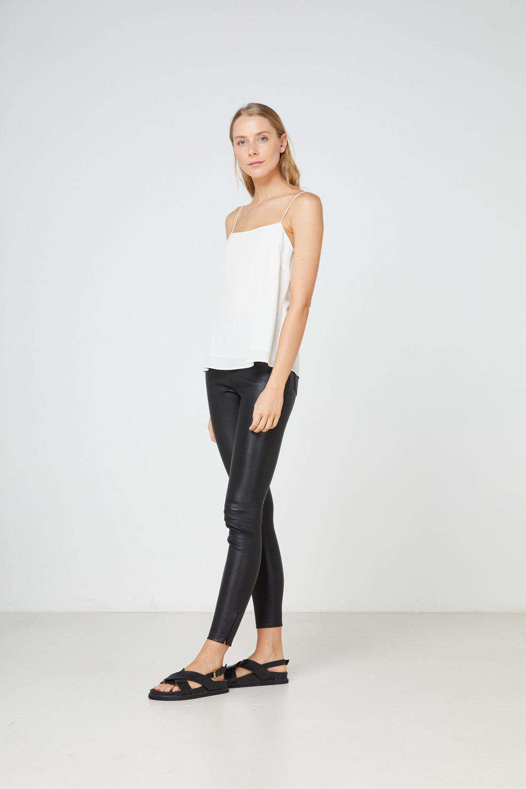 Elka Collective  White Lucca Cami 0