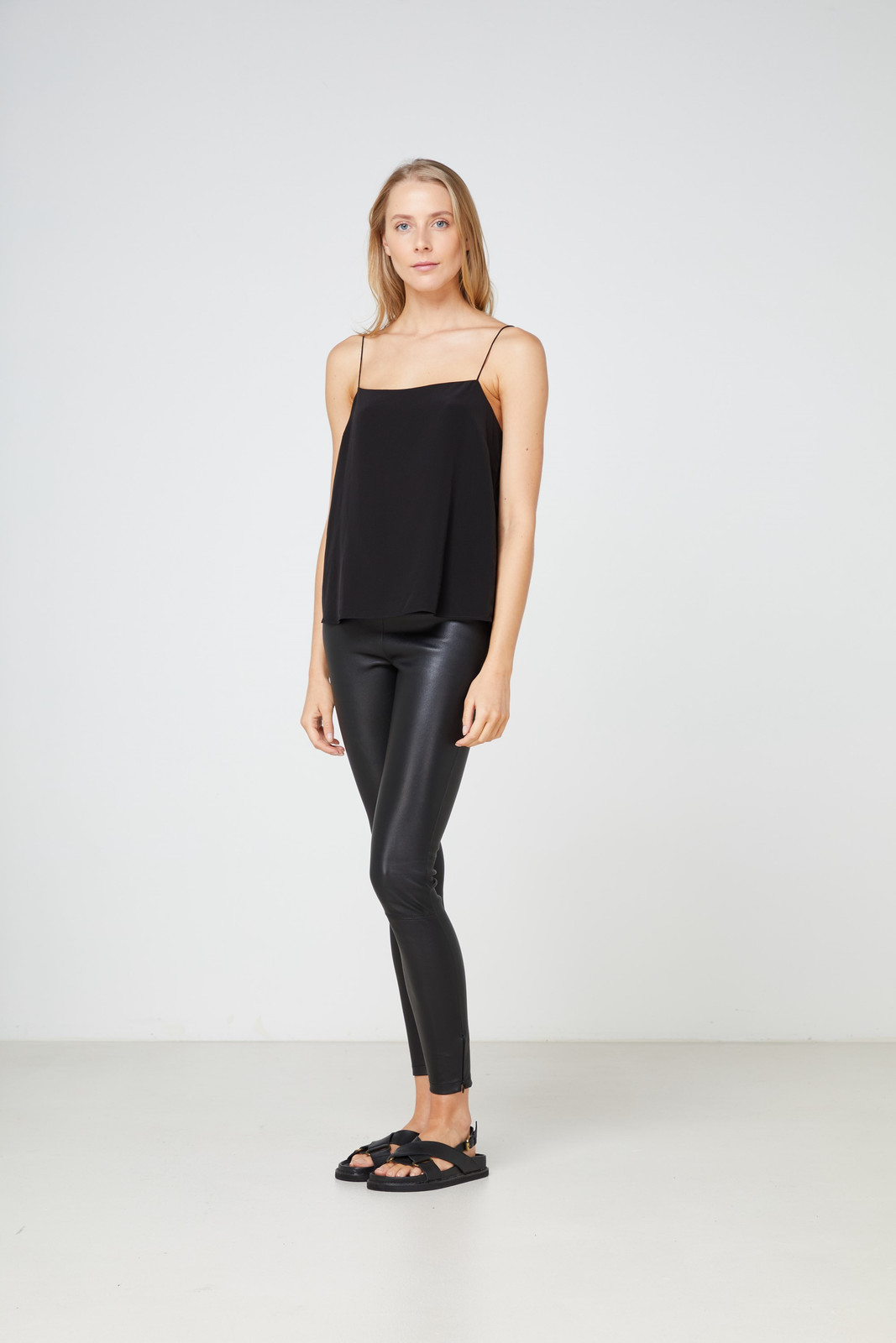 Elka Collective Lucca Cami Black  0