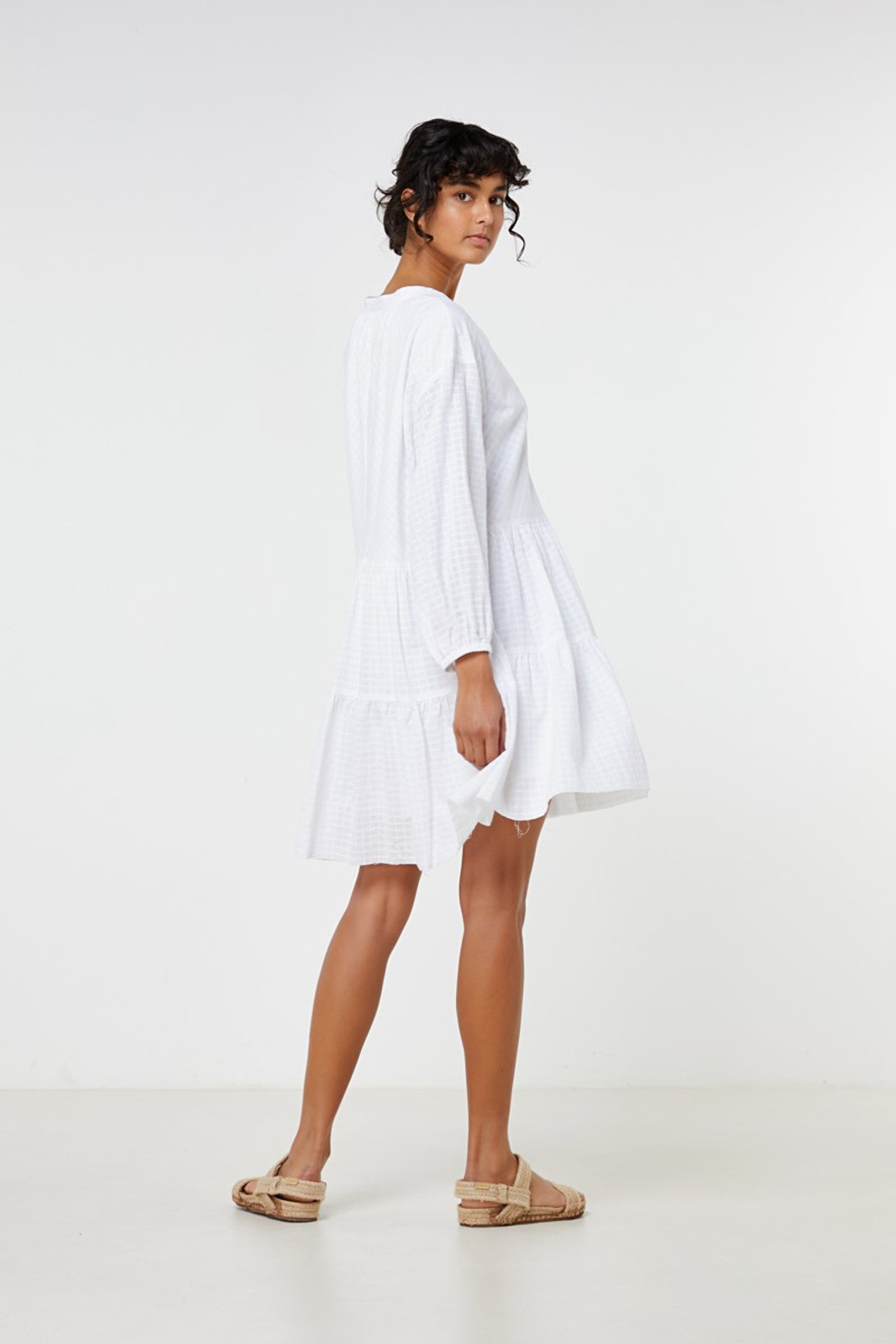 Elka Collective Ophelie Dress White  8