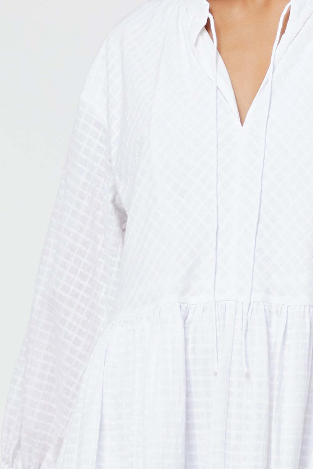 Elka Collective Ophelie Dress White  9