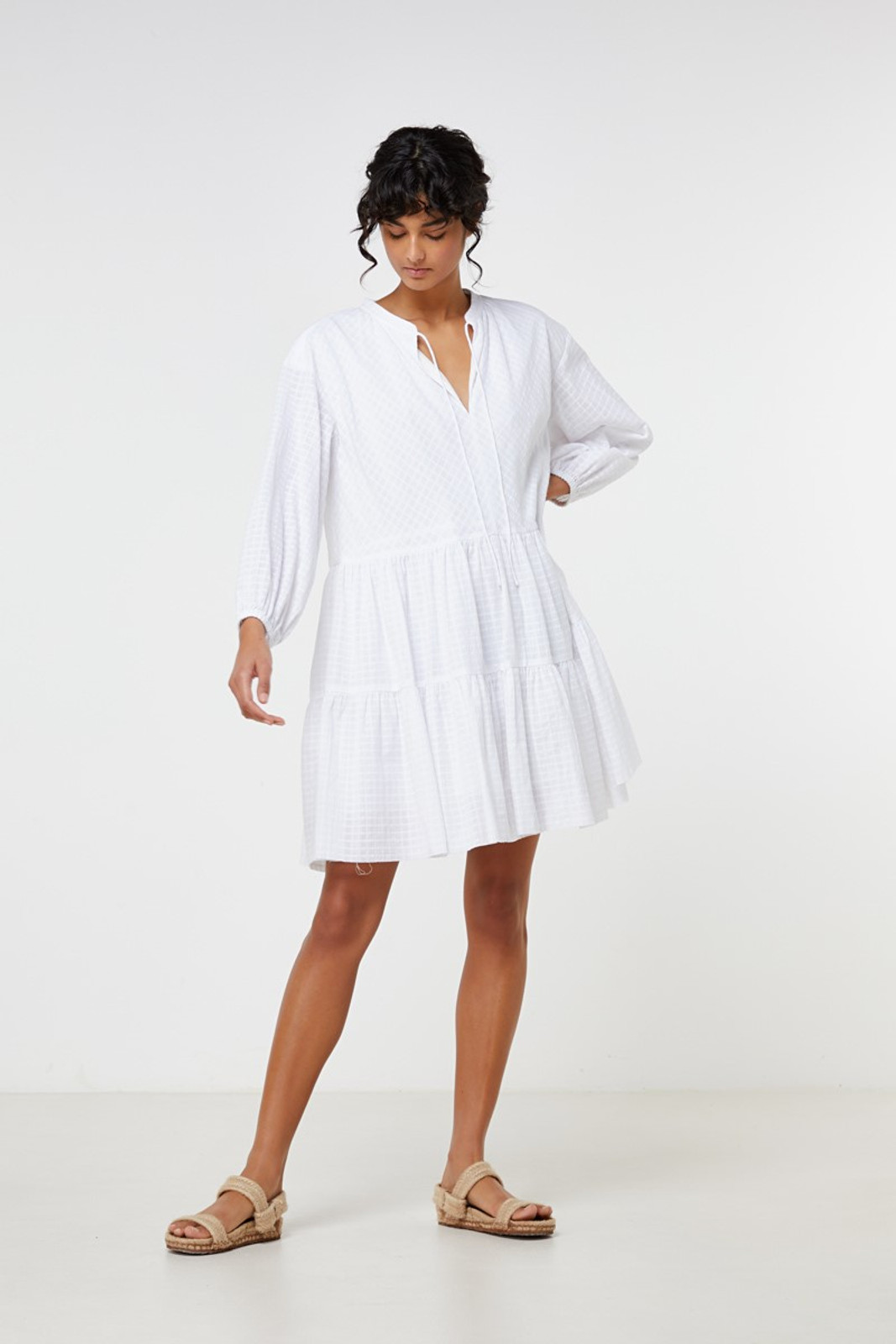 Elka Collective Ophelie Dress White  3