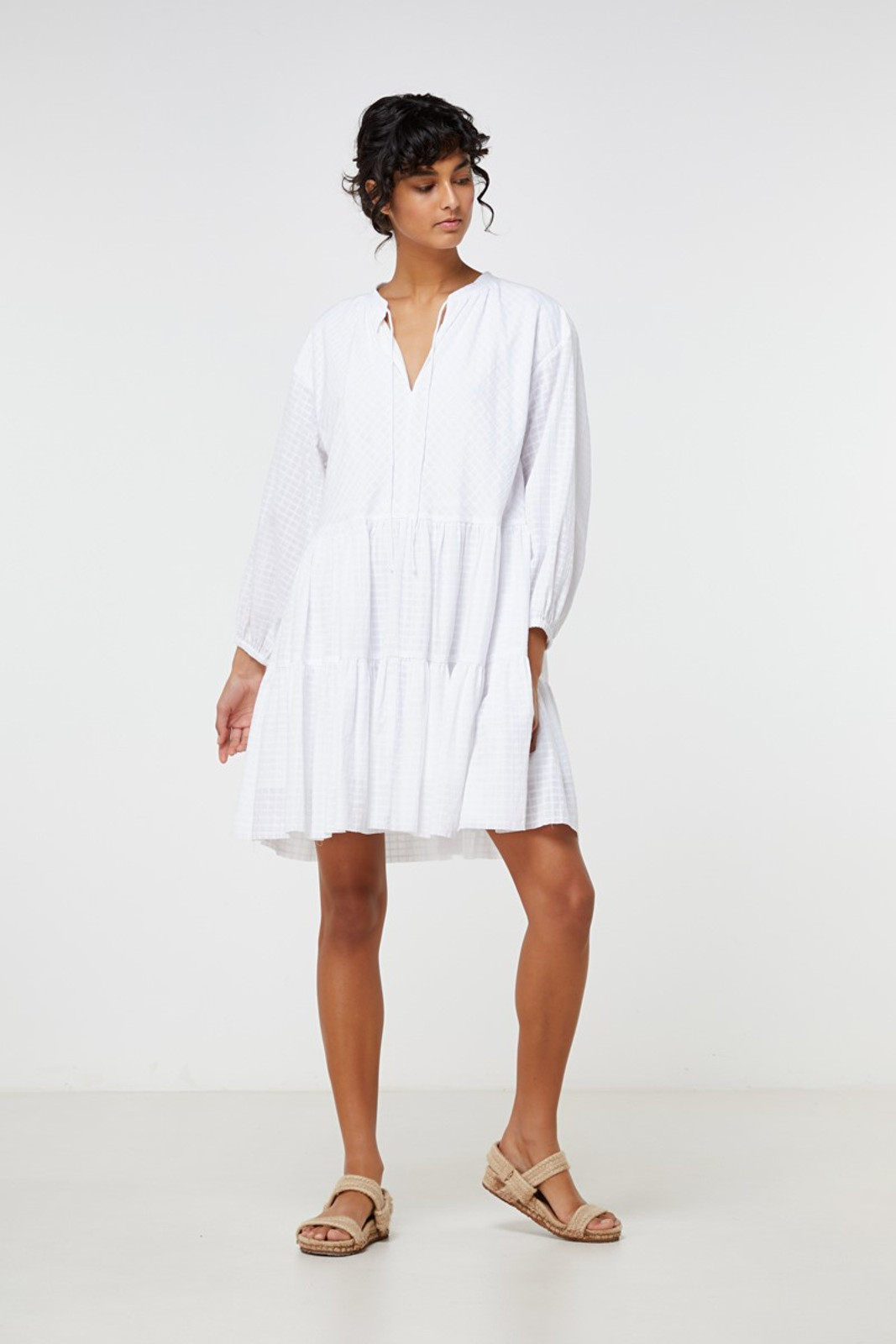 Elka Collective Ophelie Dress White  4
