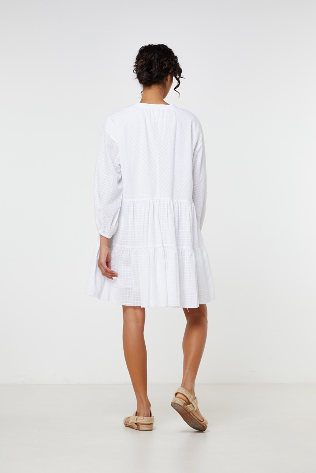 Elka Collective Ophelie Dress White  7
