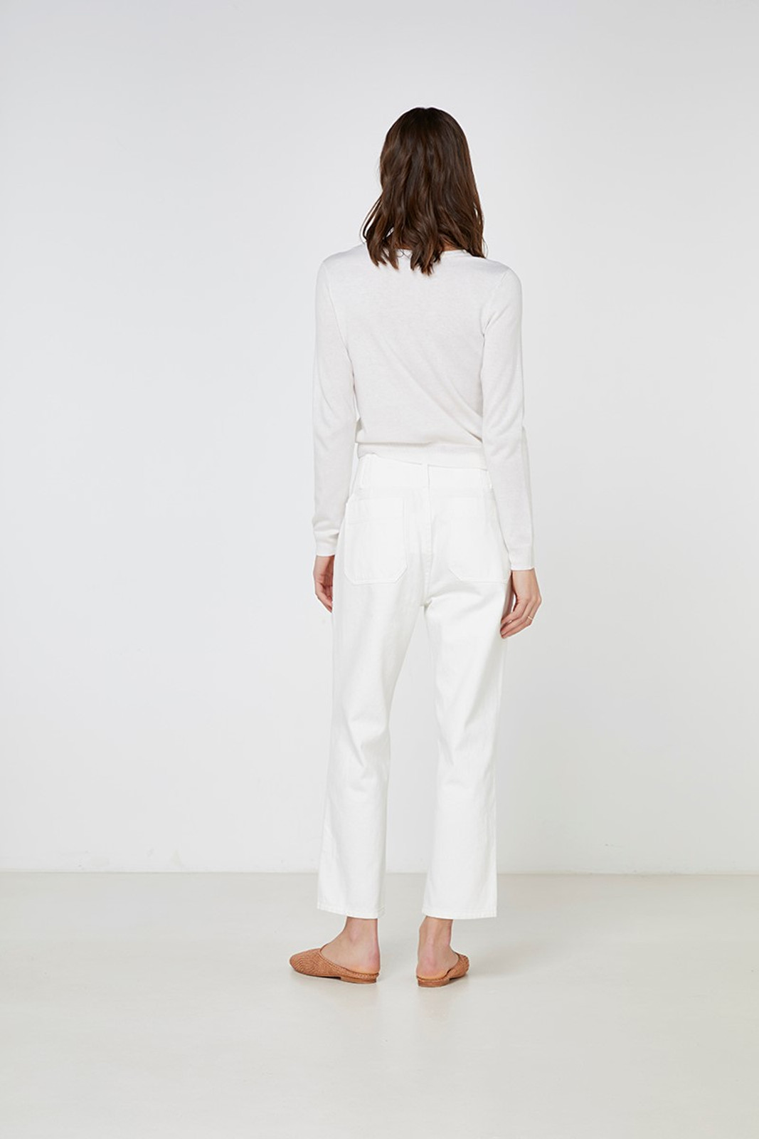 Elka Collective Gale Knit White  9