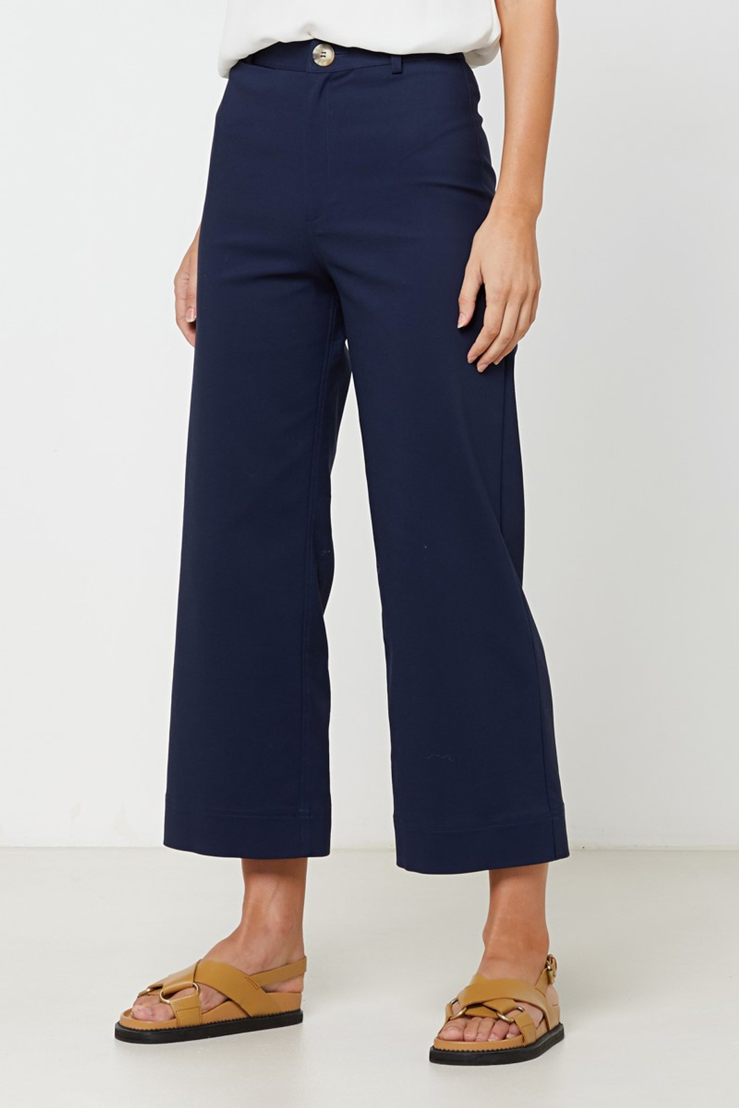 Elka Collective Ingrid Pant Navy  1