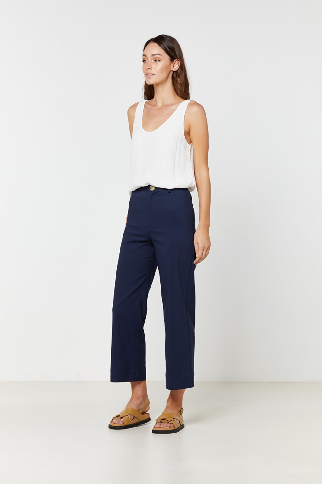 Elka Collective Ingrid Pant Navy  2
