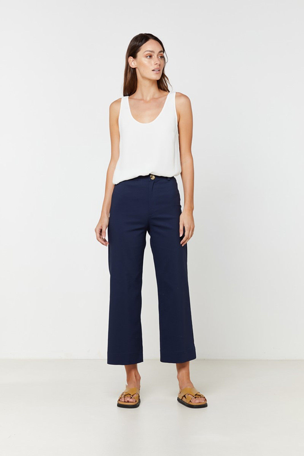 Elka Collective Ingrid Pant Navy  3