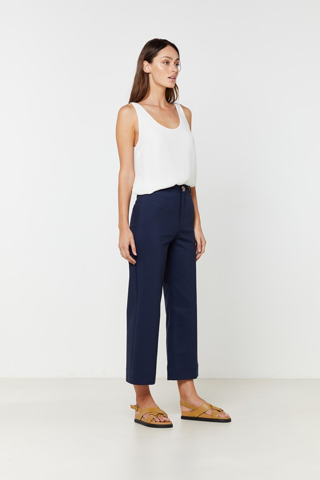 Elka Collective Ingrid Pant Navy  4