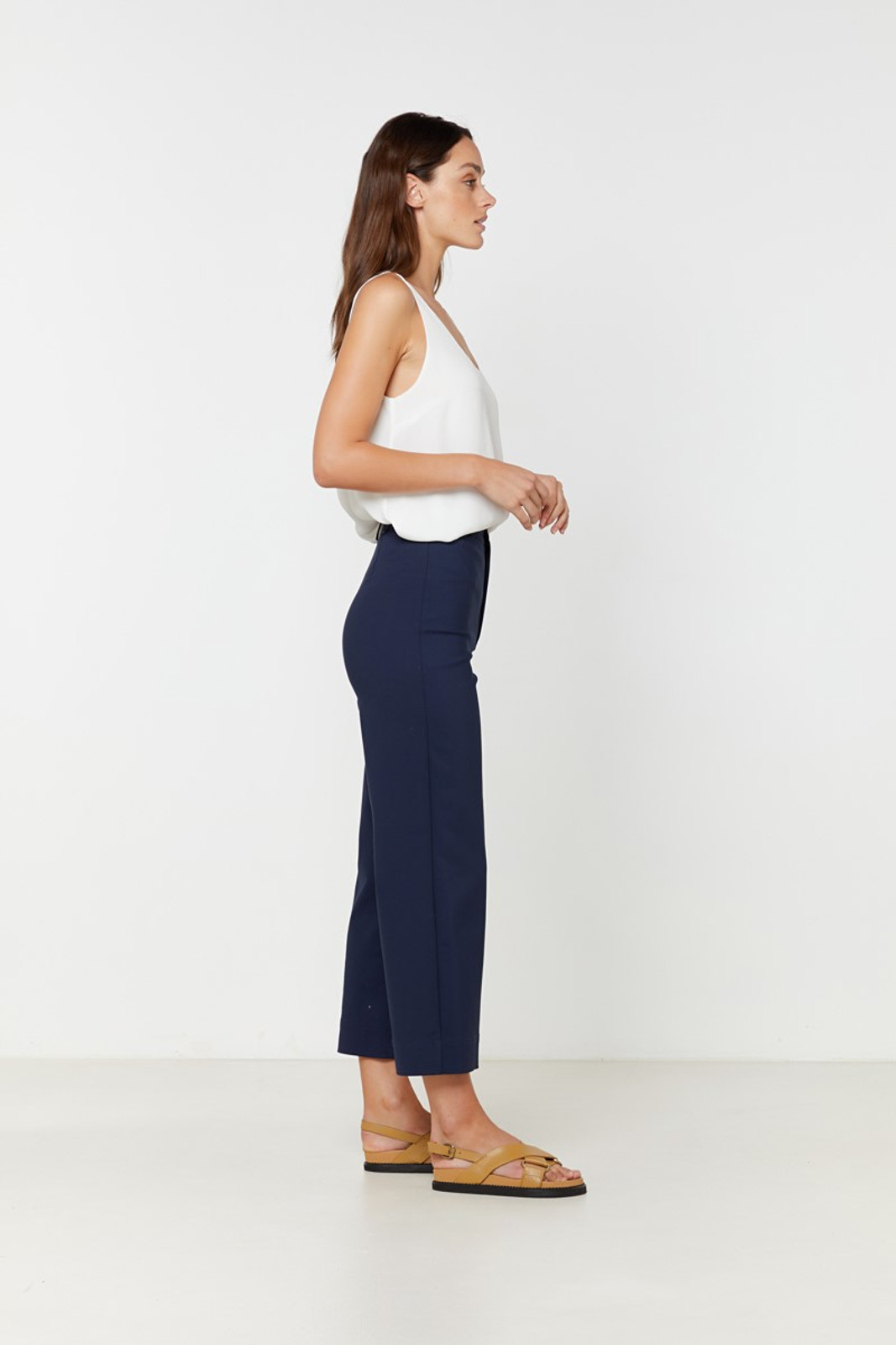 Elka Collective Ingrid Pant Navy  5