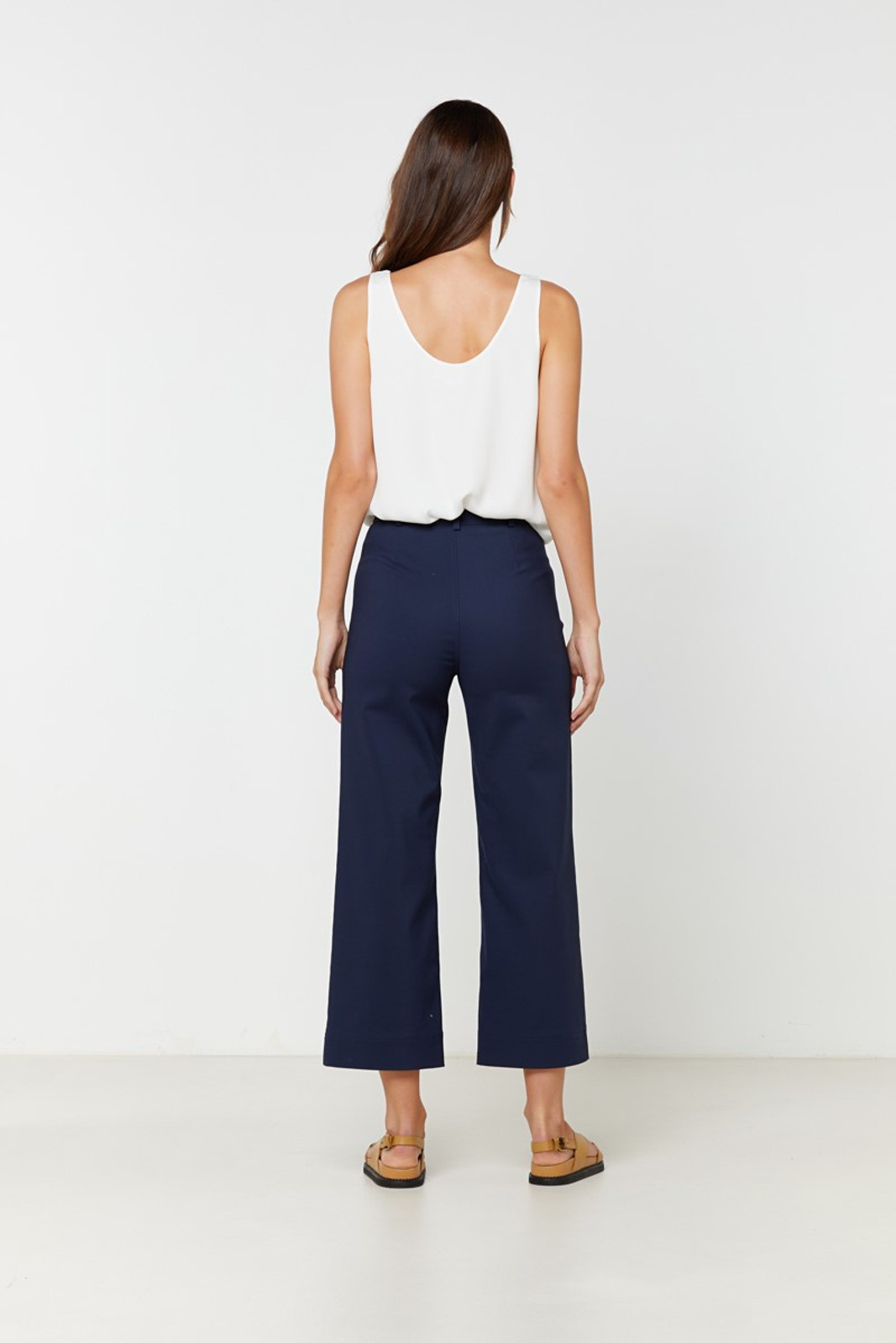 Elka Collective Ingrid Pant Navy  6