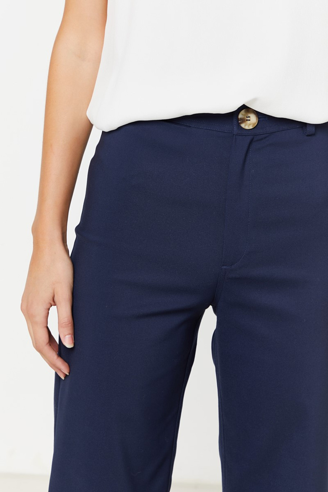 Elka Collective Ingrid Pant Navy  7