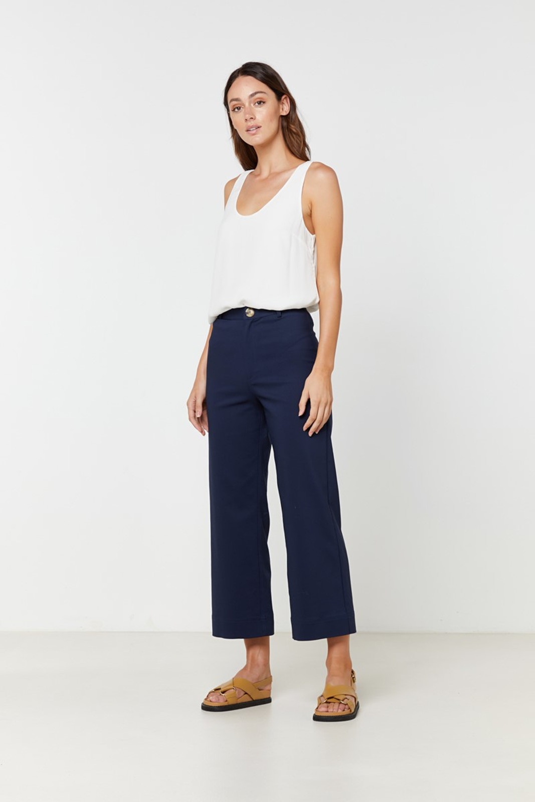 Elka Collective Ingrid Pant Navy  0