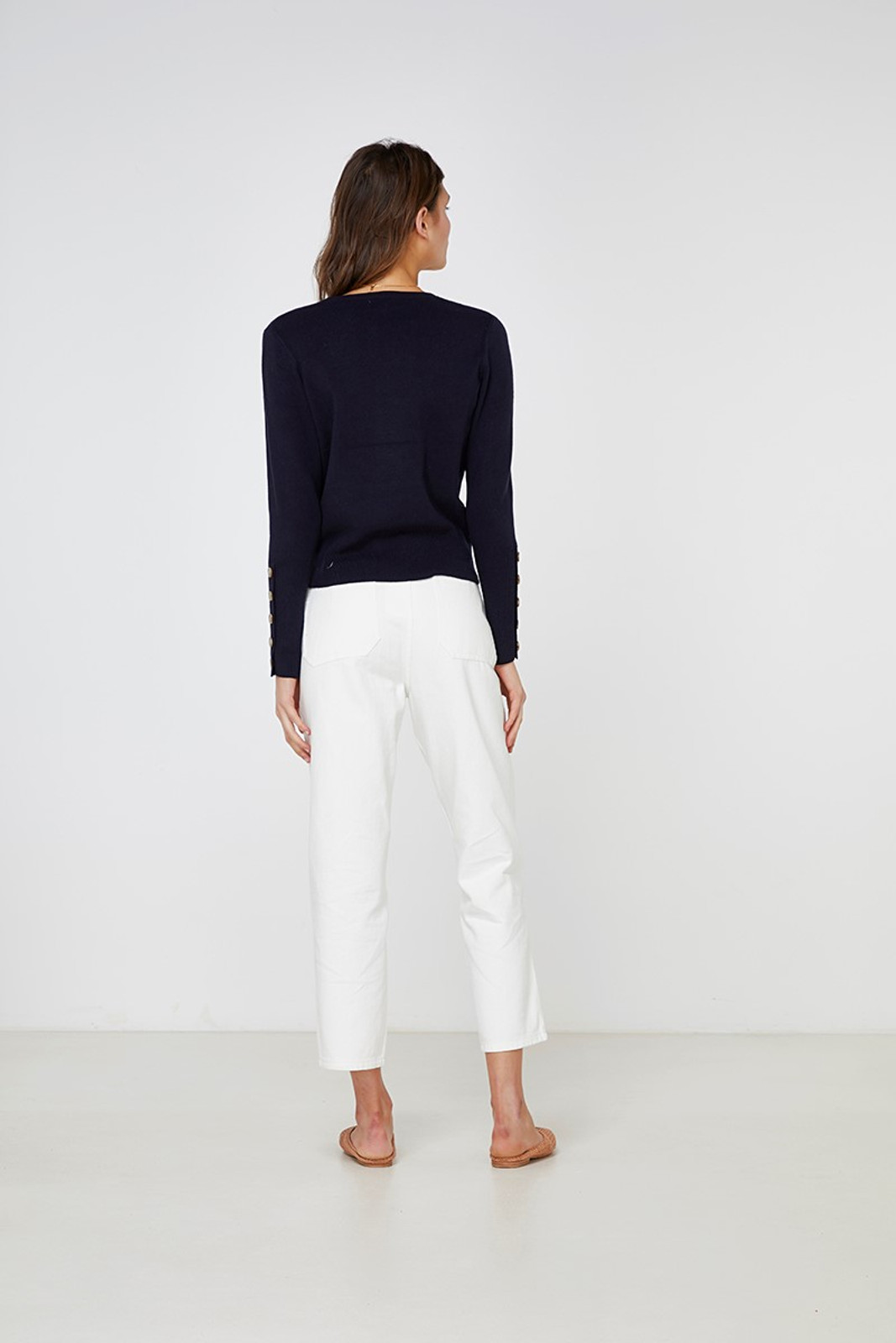 Elka Collective Mateo Knit Navy  8