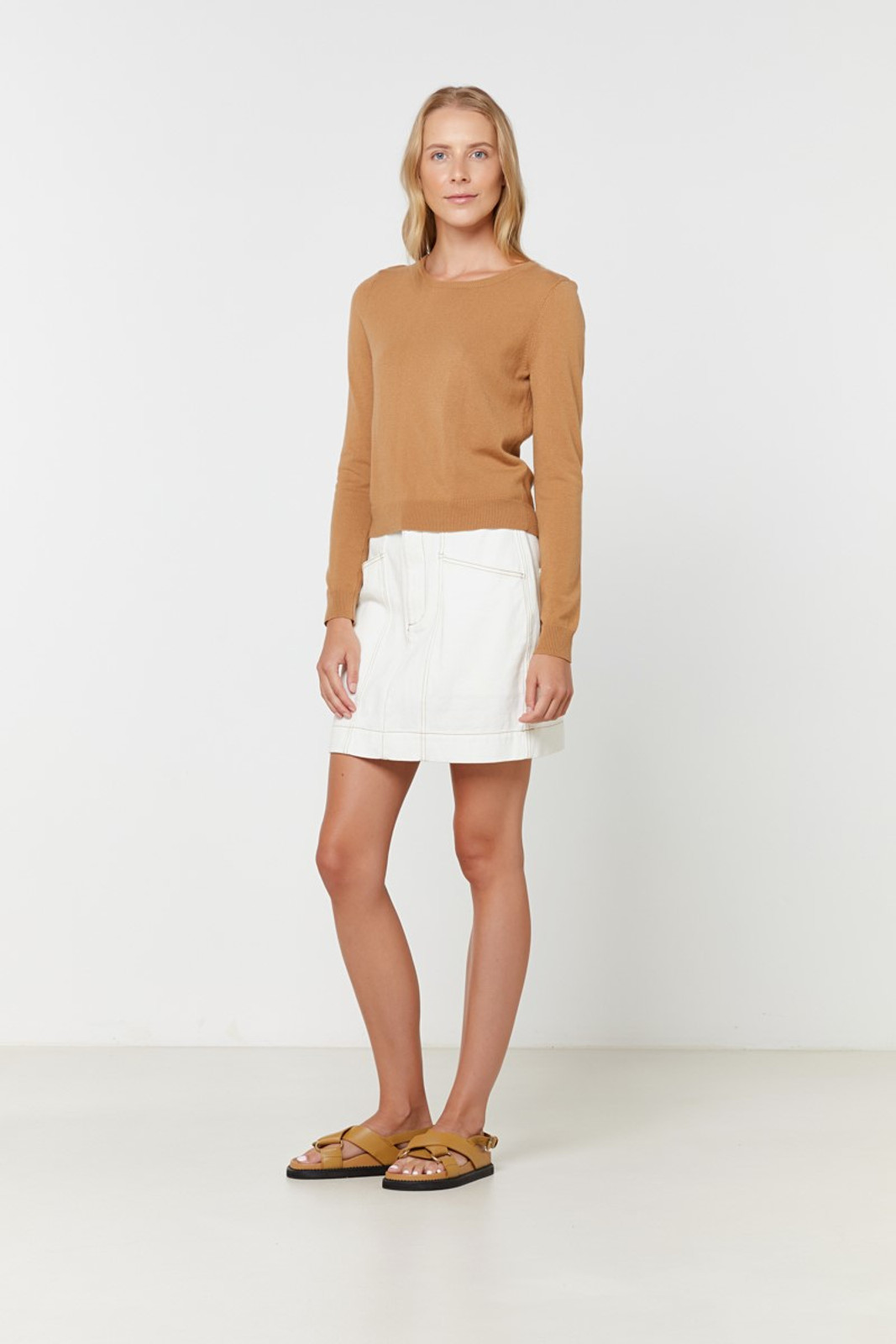 Elka Collective Gale Knit Neutrals  0
