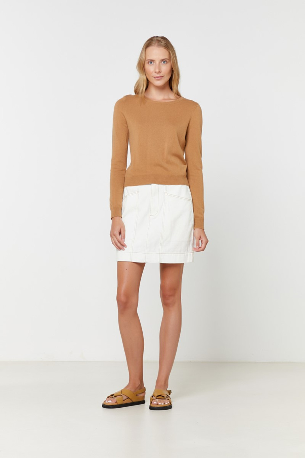Elka Collective Gale Knit Neutrals  2