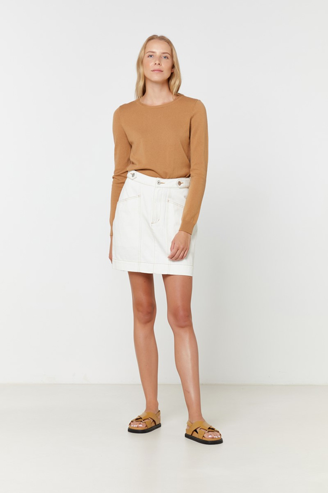 Elka Collective Gale Knit Neutrals  7