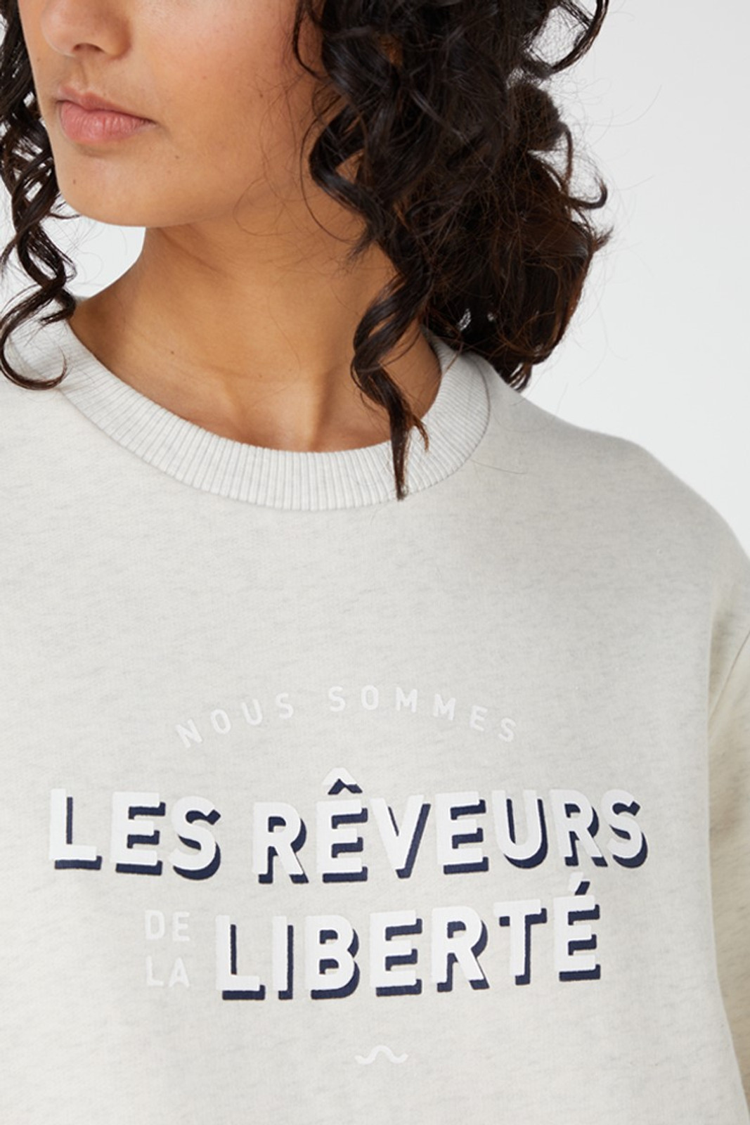 Elka Collective Nous Sommes Sweater Grey  4