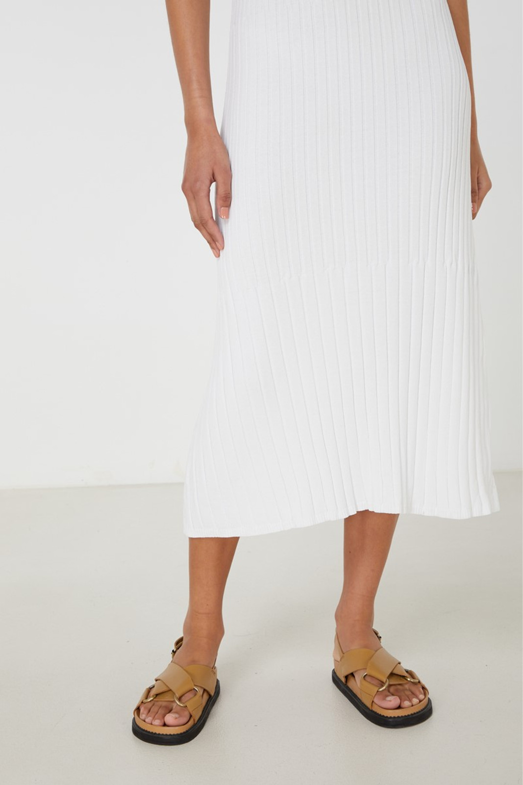 Elka Collective Chantilly Dress White  8