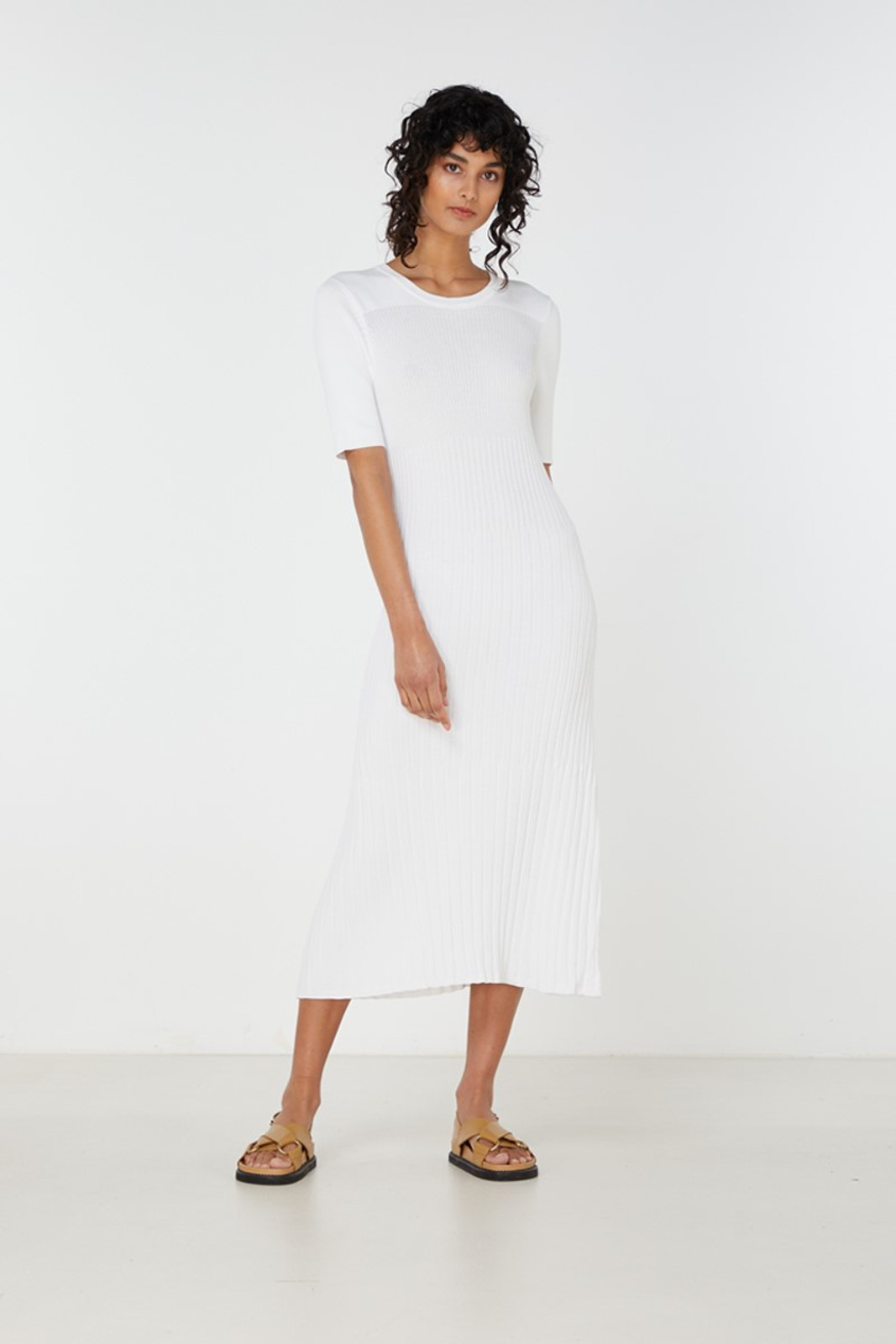 Elka Collective Chantilly Dress White  3