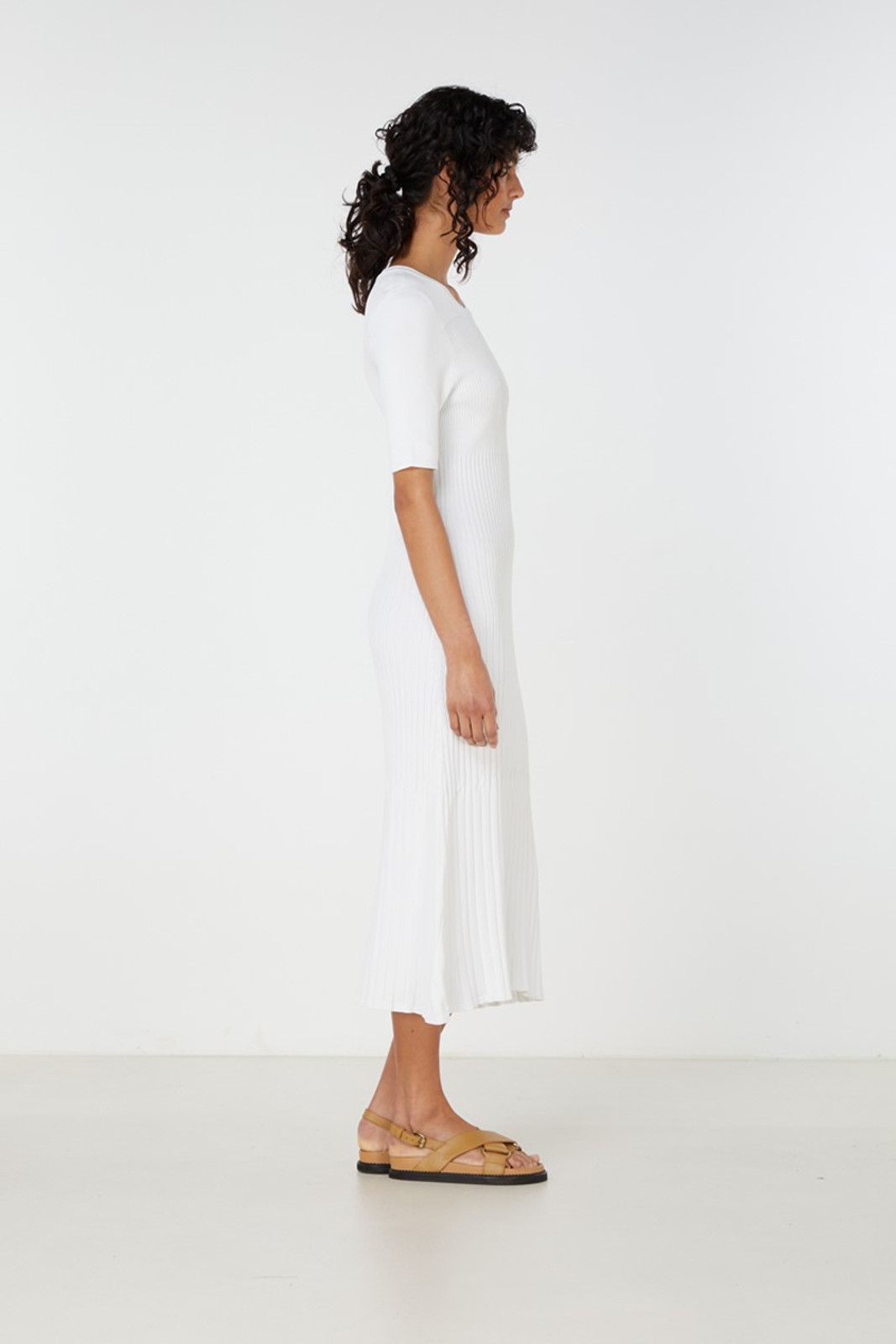Elka Collective Chantilly Dress White  5