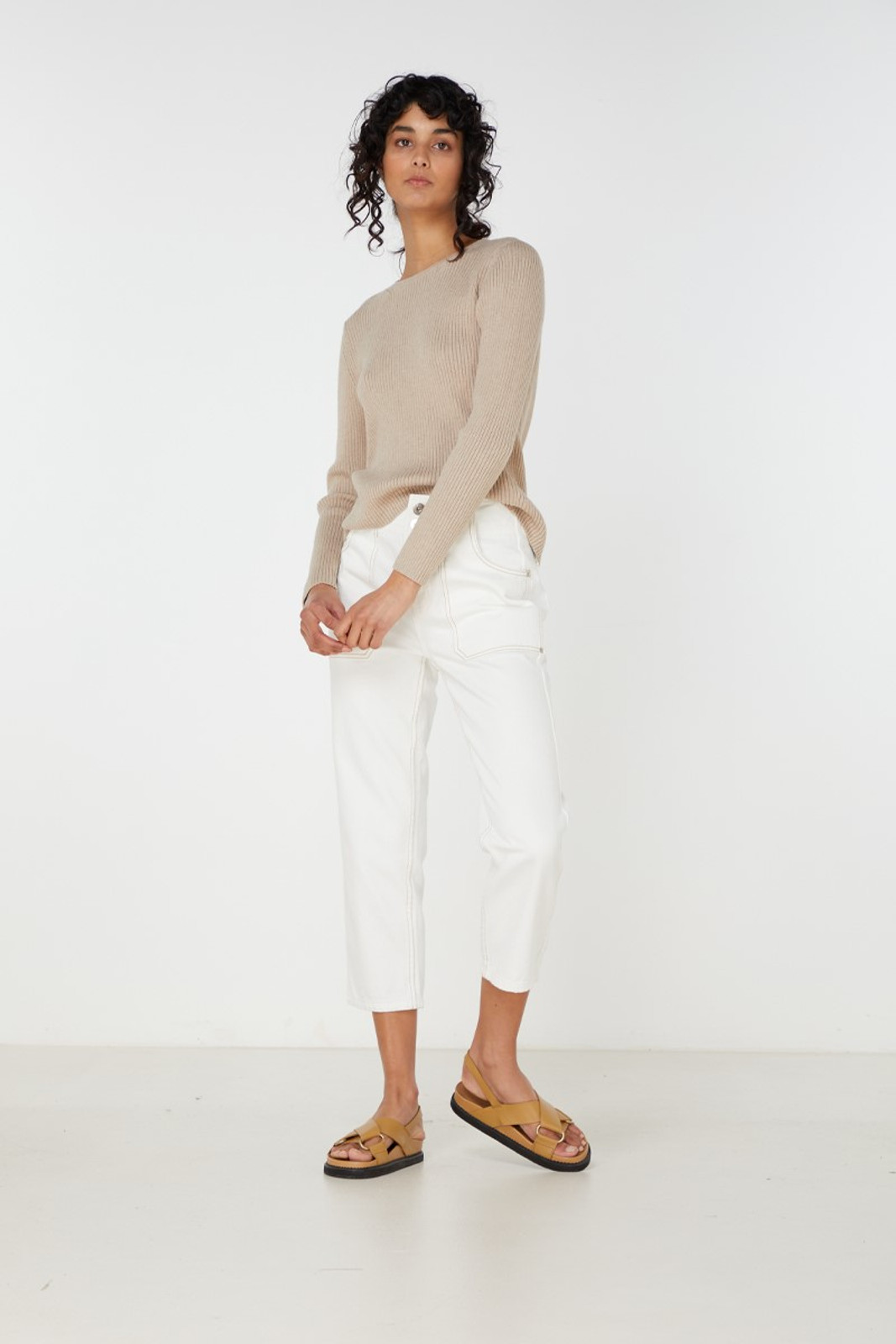 Elka Collective Houston Knit Neutrals  0