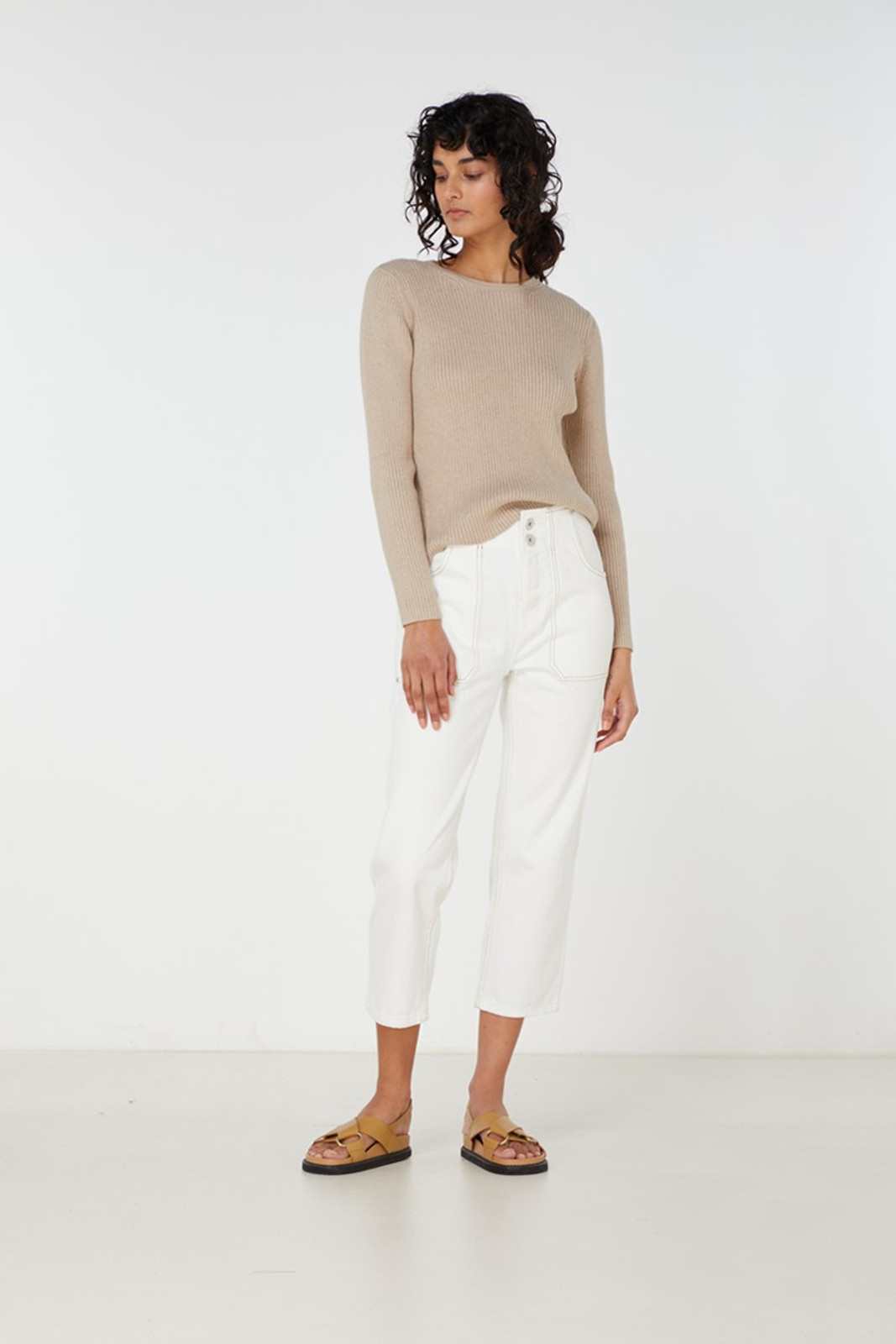 Elka Collective Houston Knit Neutrals  1