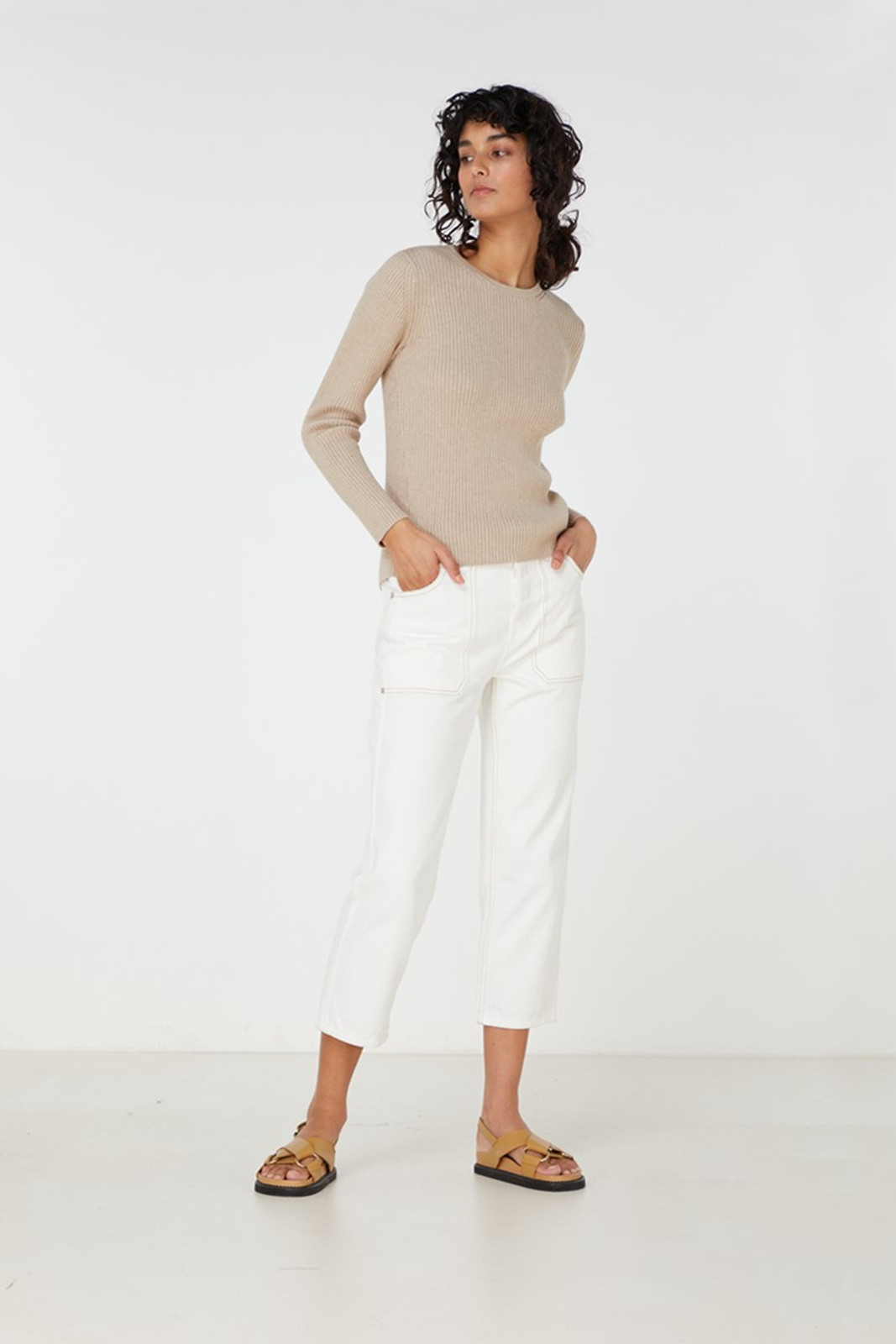 Elka Collective Houston Knit Neutrals  2