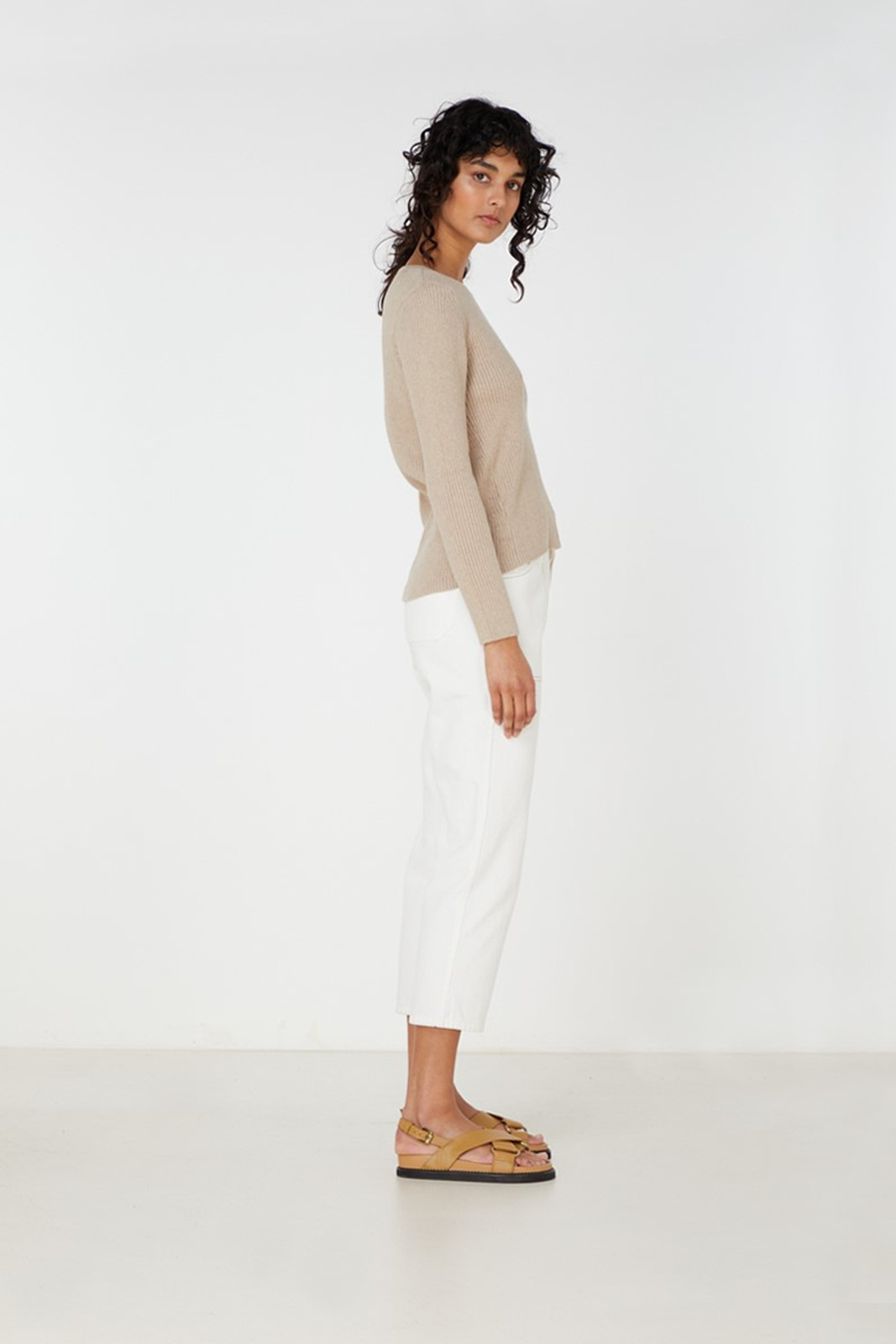 Elka Collective Houston Knit Neutrals  3