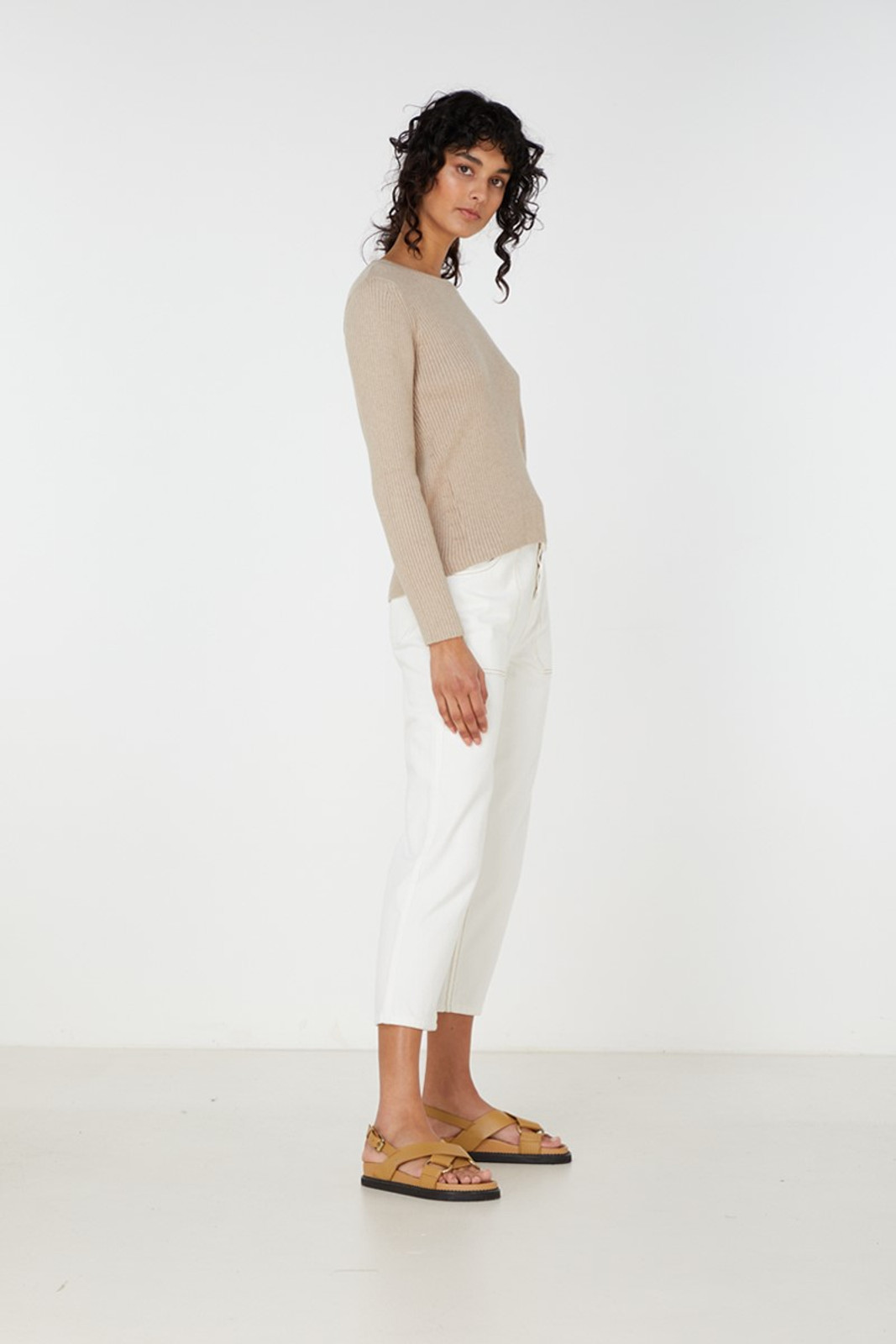 Elka Collective Houston Knit Neutrals  4
