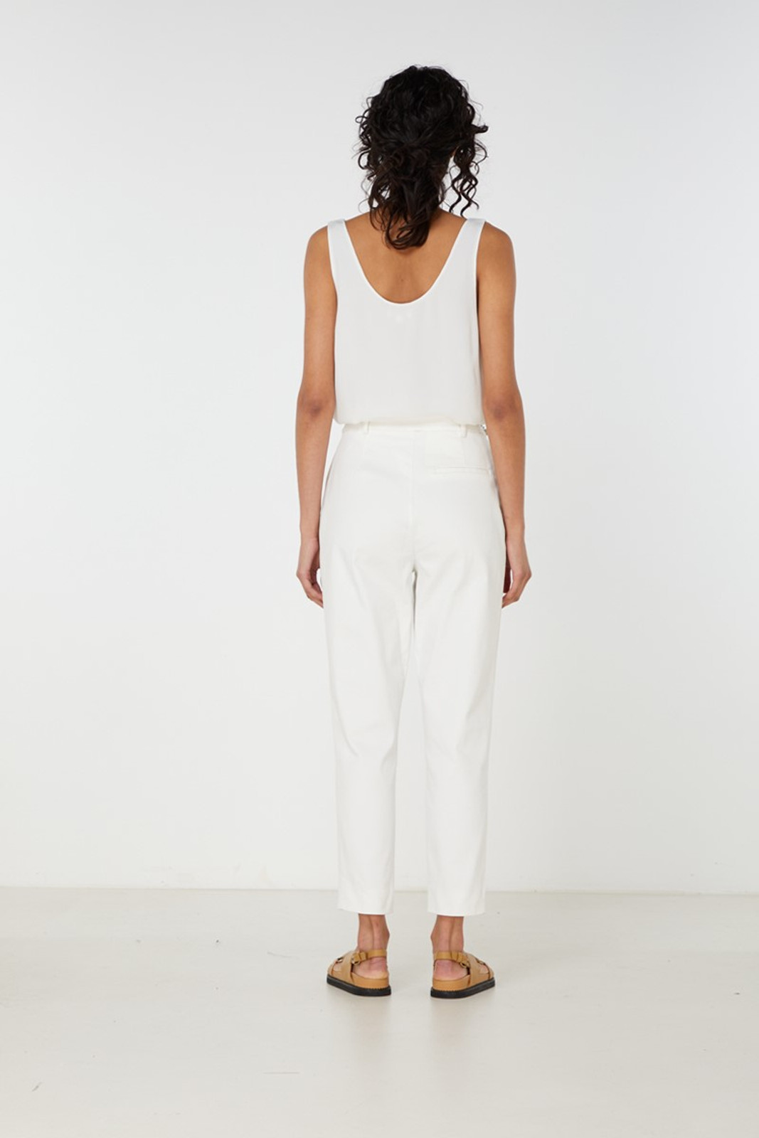 Elka Collective Desi Pant White  3
