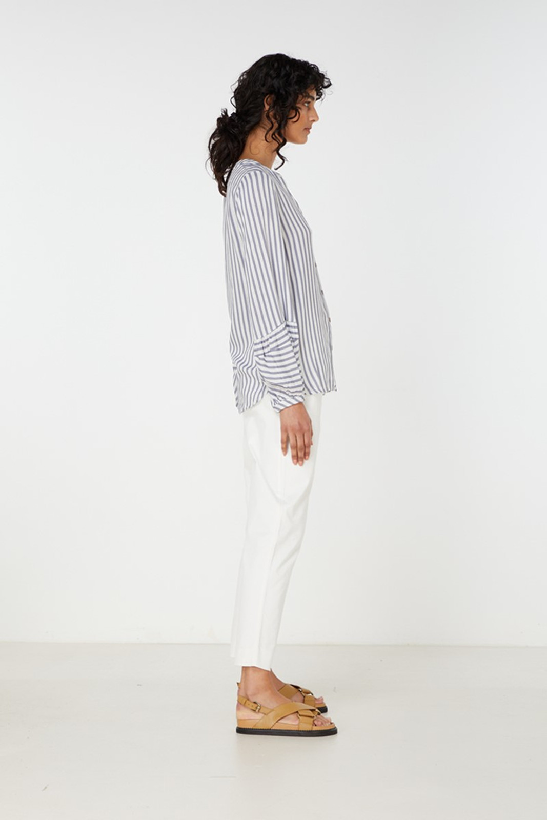 Elka Collective Leila Shirt Blue  3