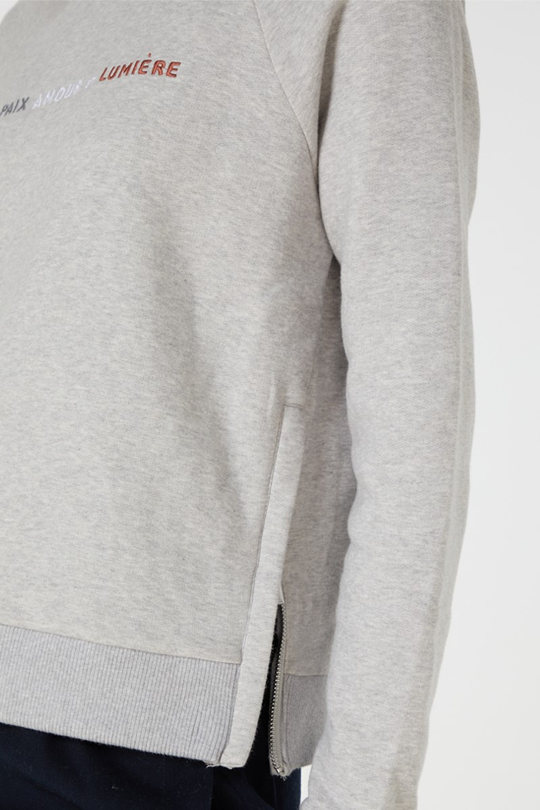 Elka Collective Paix Amour Sweat Grey  6