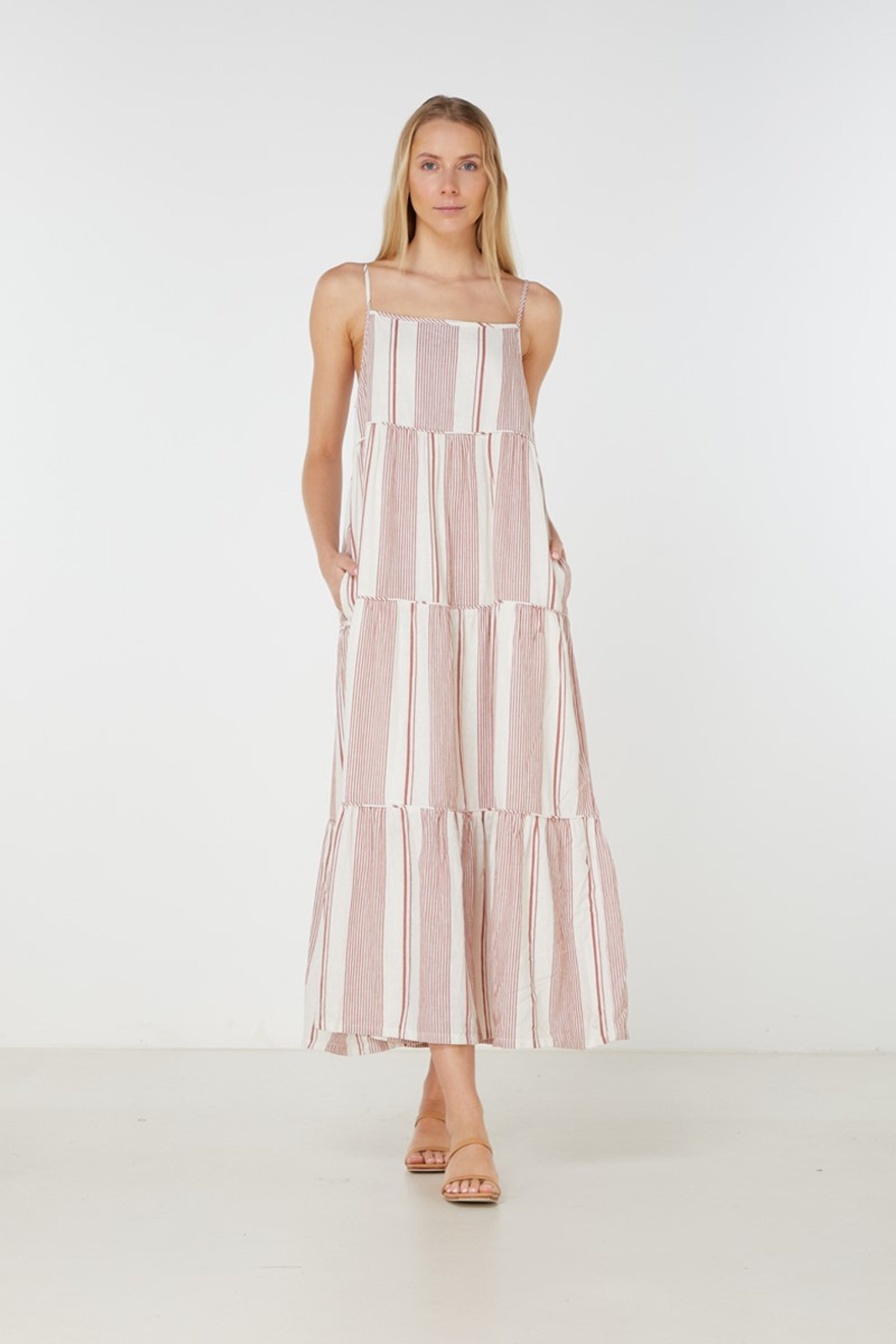 Elka Collective  Adele Maxi Dress Brown