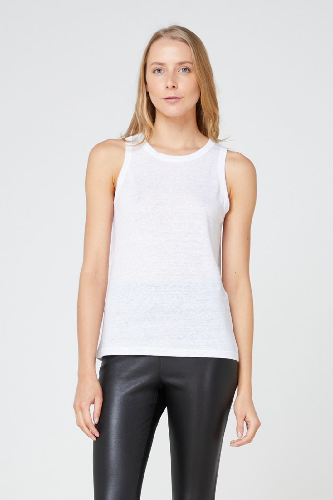 Elka Collective EC Linen Tank 2.0 White  1
