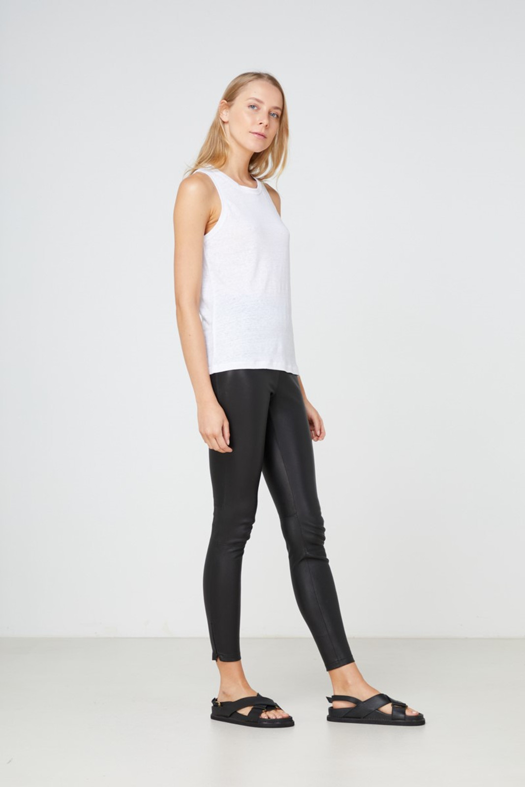Elka Collective EC Linen Tank 2.0 White  5