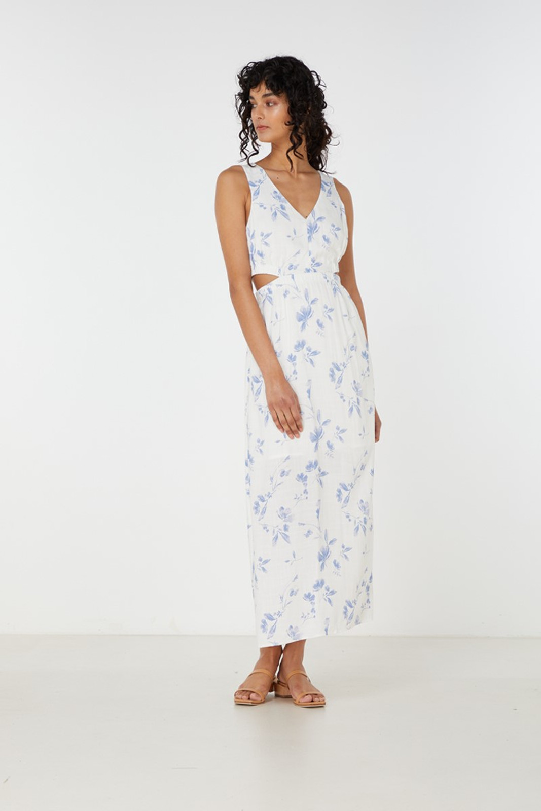 Elka Collective Orlanda Dress Blue  2