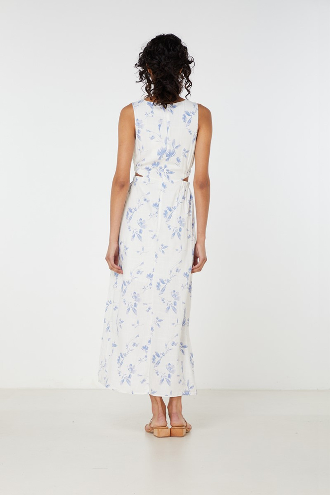Elka Collective Orlanda Dress Blue  5