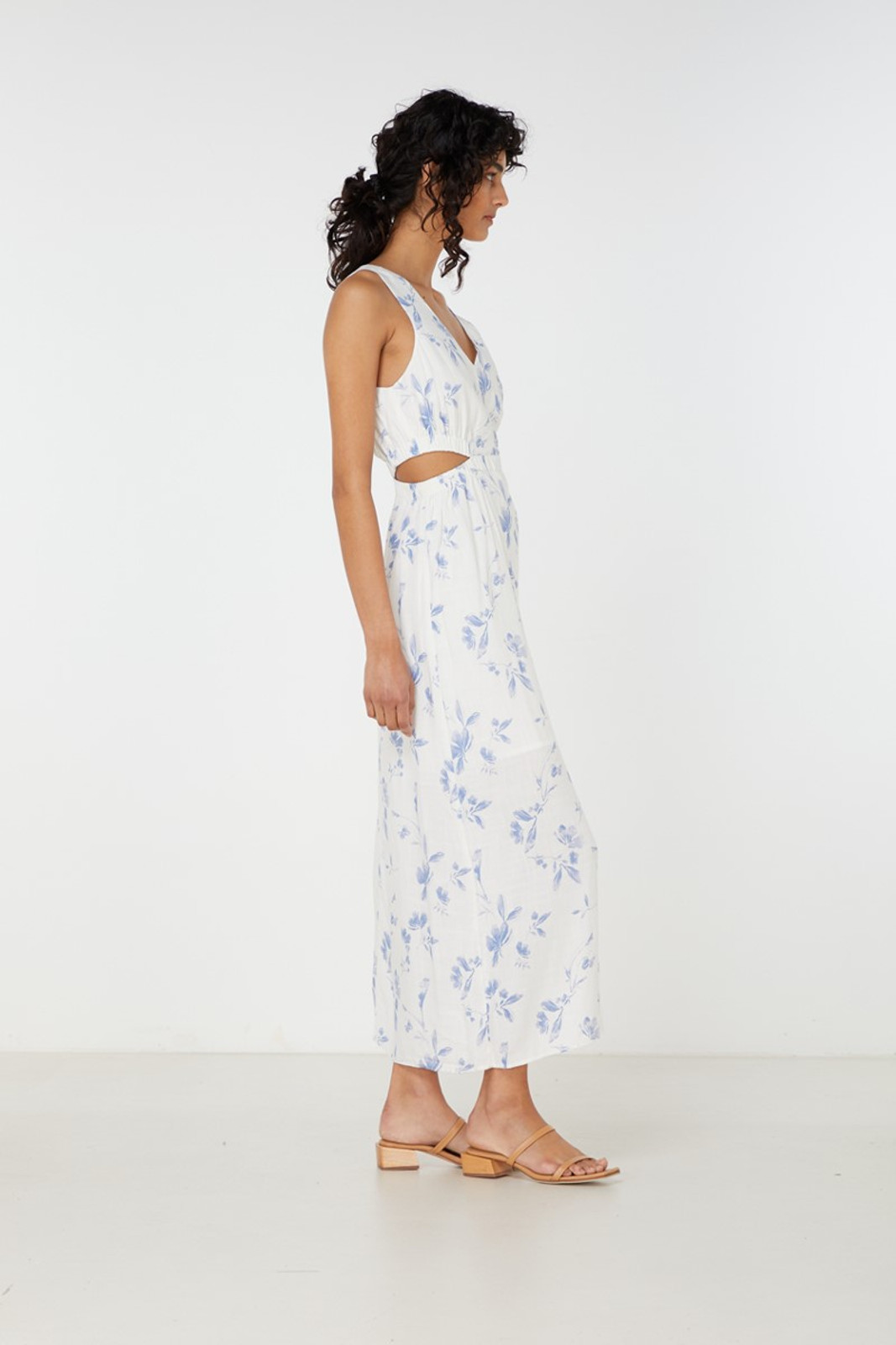 Elka Collective Orlanda Dress Blue  4