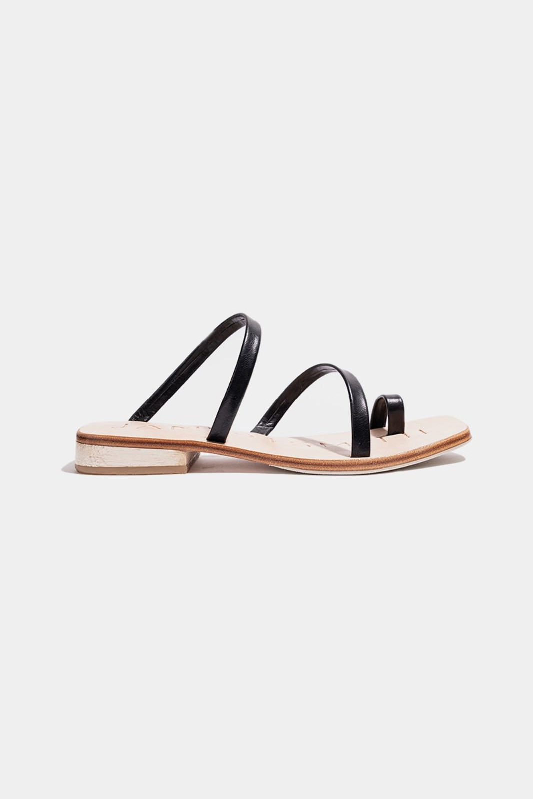 Elka Collective  Black Caro Day Sandal 0