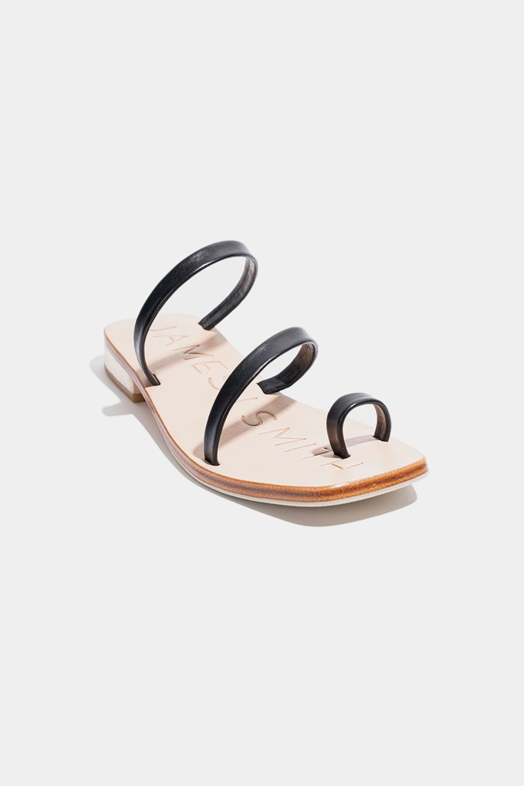 Elka Collective  Black Caro Day Sandal 1