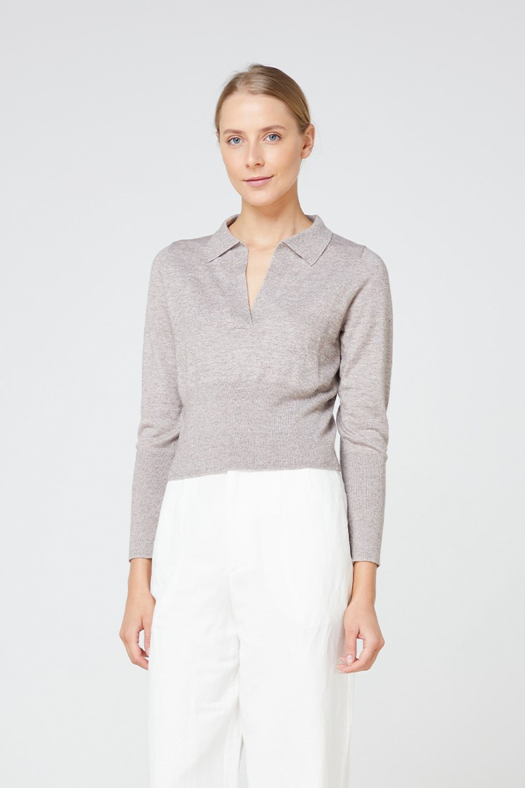 Elka Collective Bosa Knit Brown  1