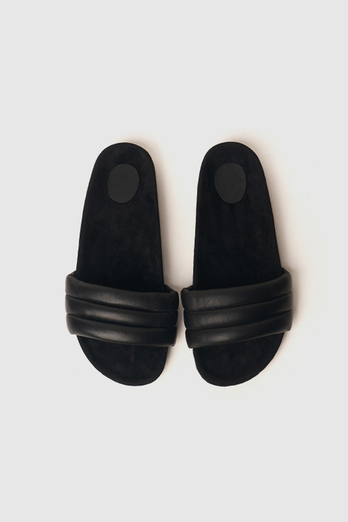 Elka Collective Womens The Bowie Slide Black