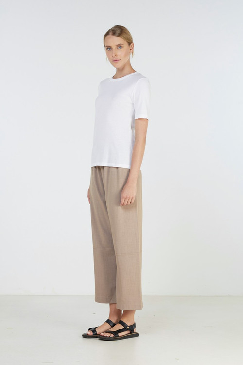 Elka Collective WOMENS White  Kindred Tee