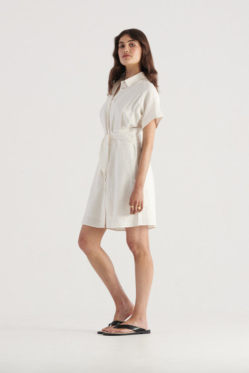 Elka Collective Womens White  Times Dress