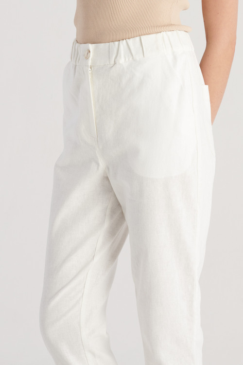 Elka Collective Womens White  Margot Pant